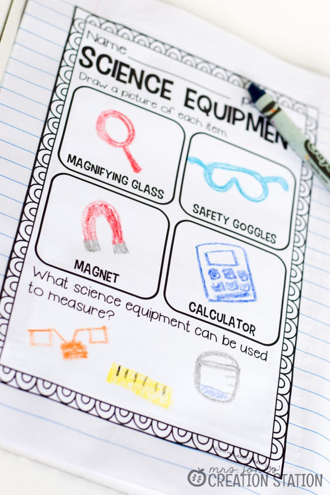 Science Notebook - Science Equipment - MJCS