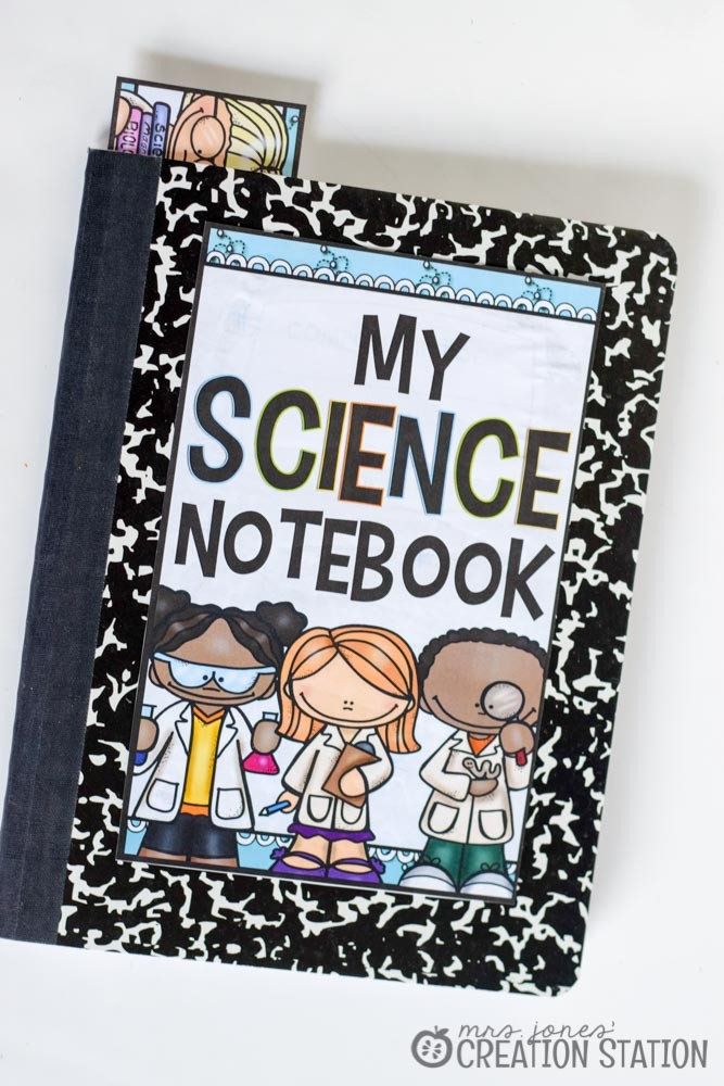 Science Notebook from Mrs Jones Creation Station