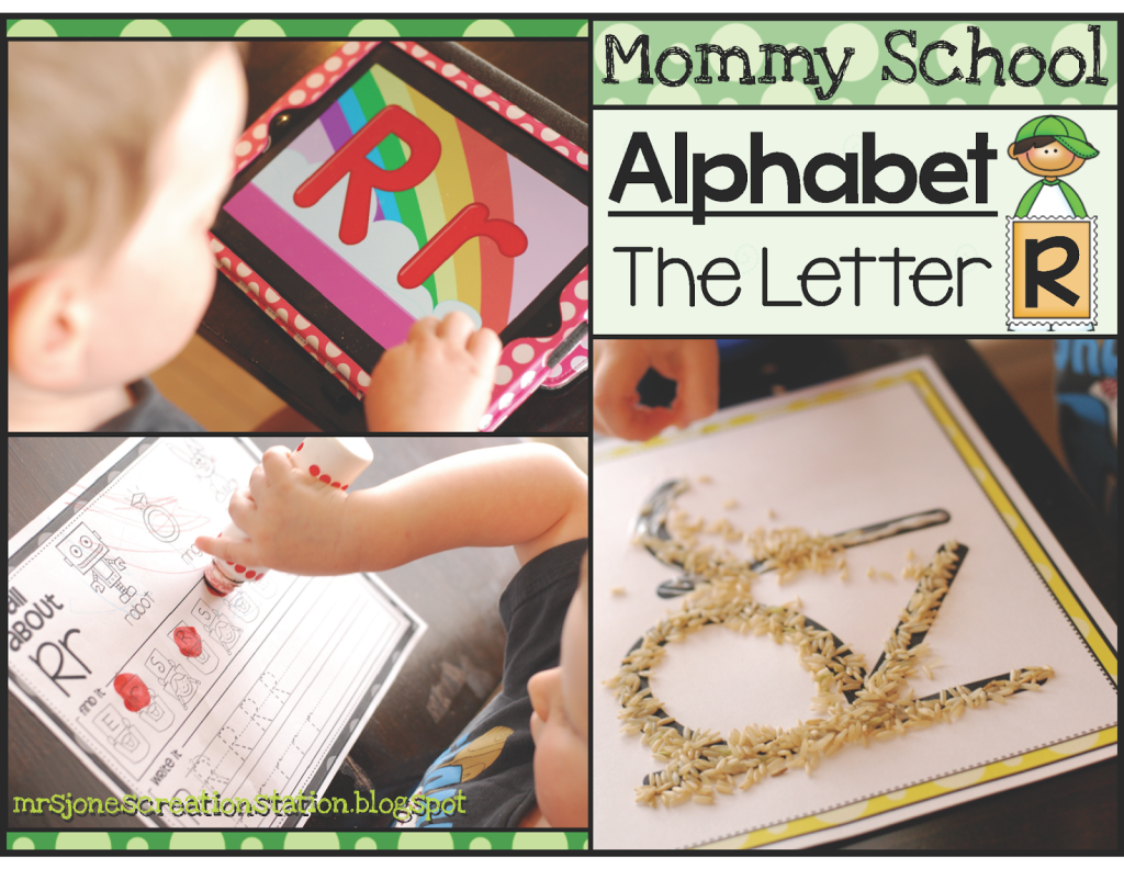 Alphabet Letter Rr  Mrs Jones Creation Station
