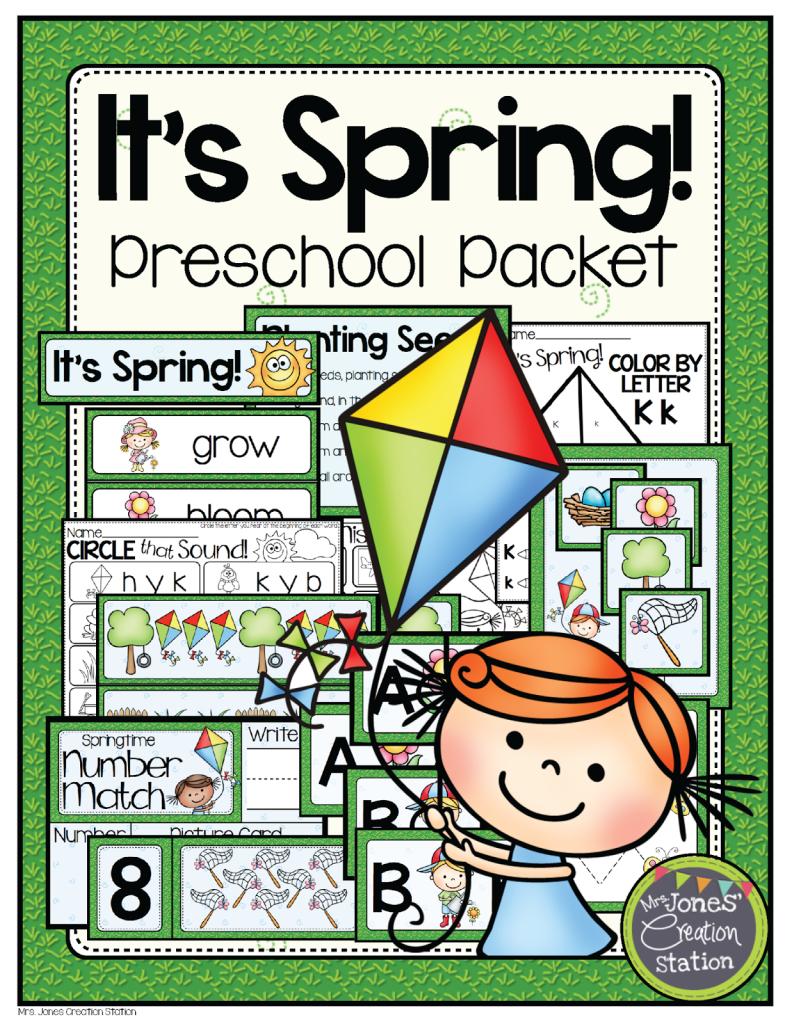 http://www.teacherspayteachers.com/Product/Spring-Preschool-Pack-1160593