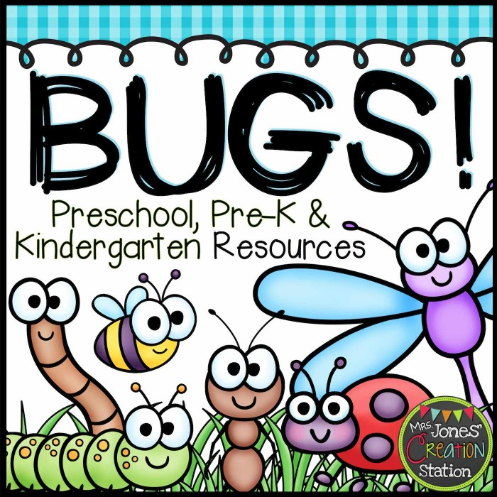 Bugs Resources for Little Learners - MCJS