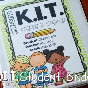 Keeping It Together: KIT Student Binder