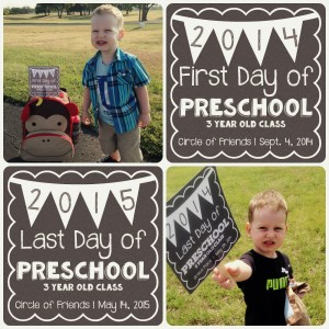Back to School – First Day Sign FREEBIE