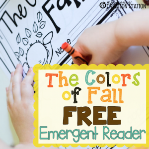FREE Colors of Fall Emergent Reader