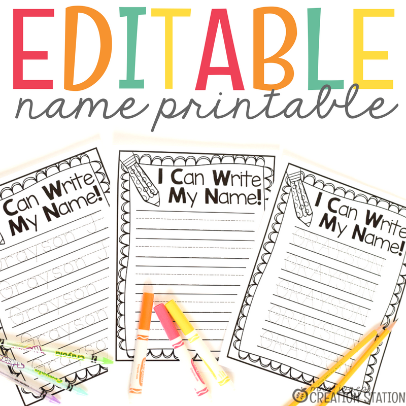 Name Writing Practice Handwriting Freebie Mrs Jones' Creation. Name Writing Practice Handwriting Freebie Mrs Jones' Creation Station. Worksheet. Worksheet Name Tracing At Mspartners.co