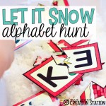 Let it Snow…Christmas Alphabet Hunt