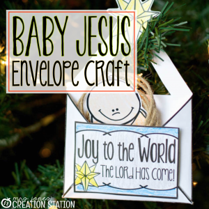 Nativity Craft Baby Jesus Ornament - MJCS