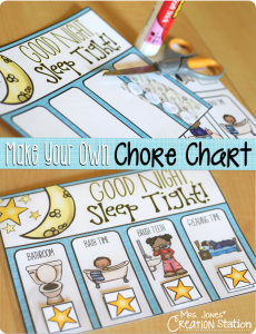 How to Make Your Own Chore Chart…