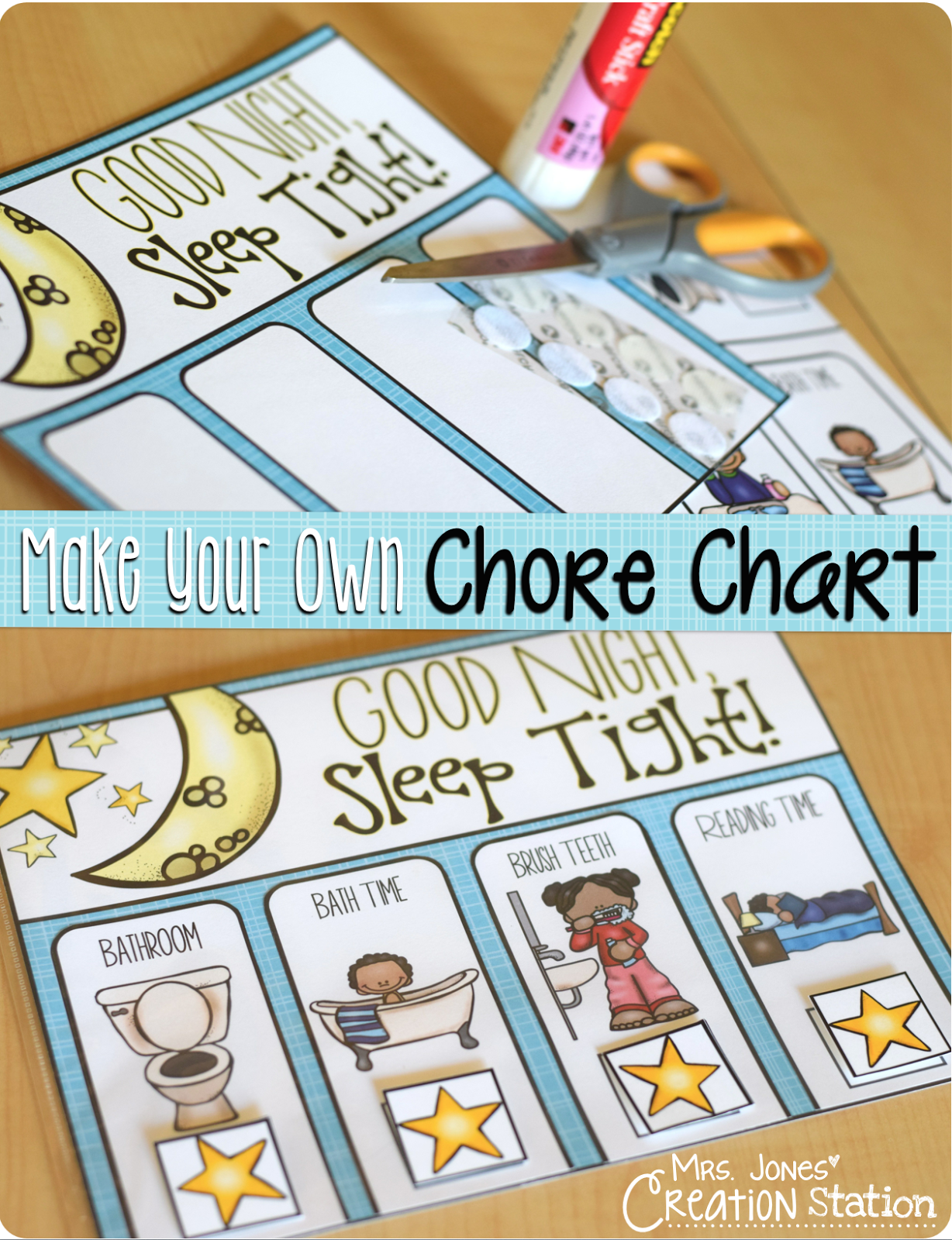 Creating Your Perfect Minimalist Wardrobe In Stages: How To Make Your Own Chore Chart...
