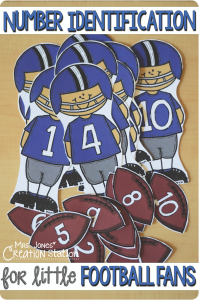 Number Identification for Little Football Fans
