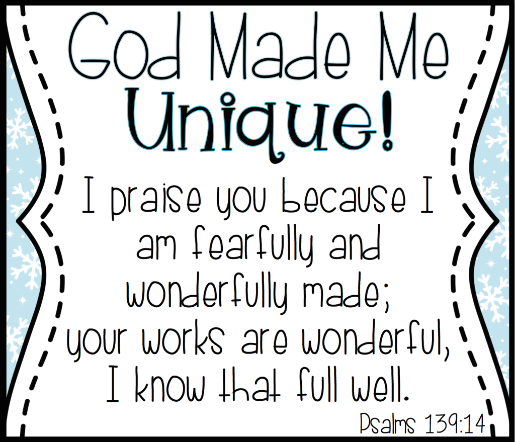 Preschool Craft For God Made Me