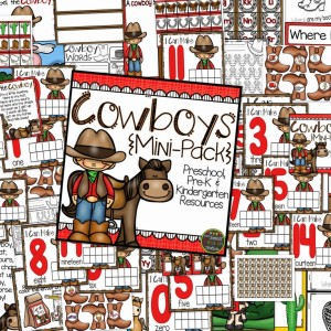 Cowboys Mini-Pack for Little Learners