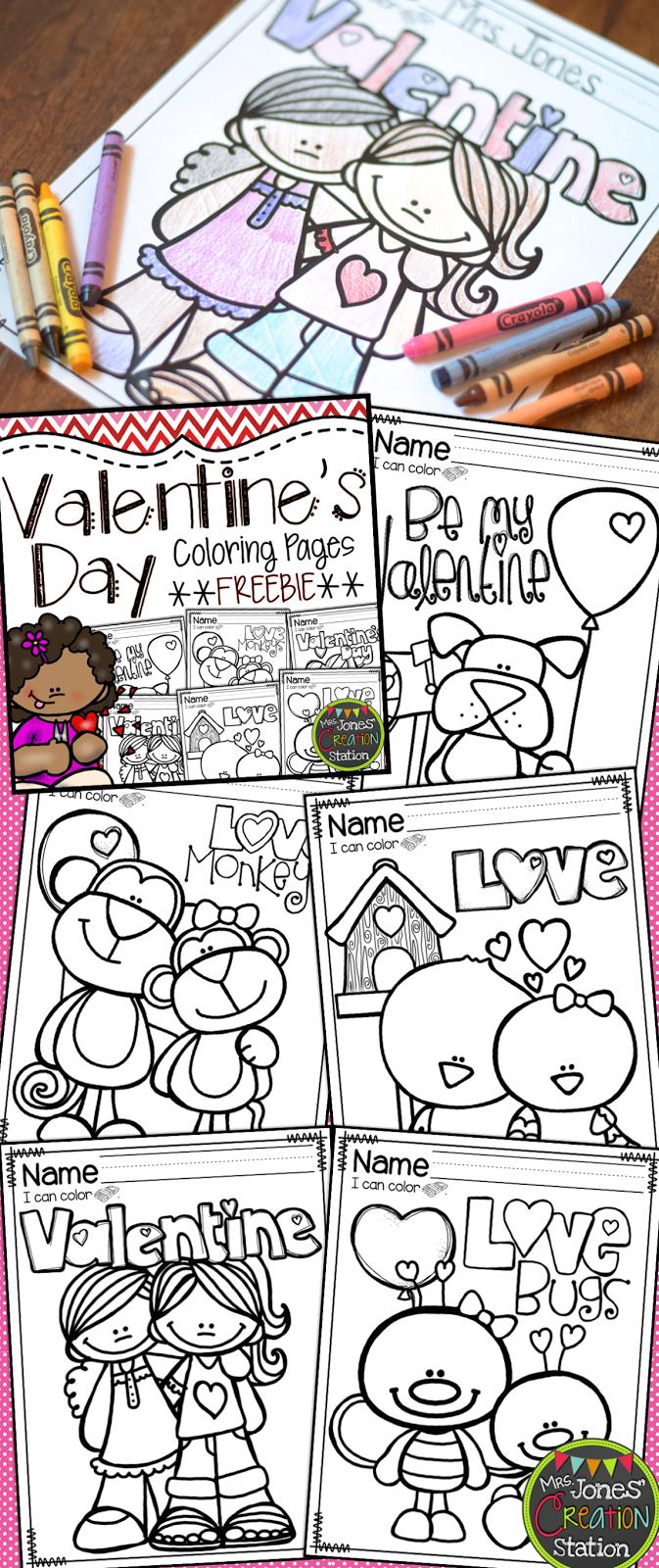 valentine u0027s day coloring pages freebie mrs jones u0027 creation