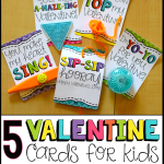 5 Valentine Cards for Kids