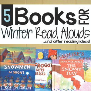 5 Books for Winter Read Alouds