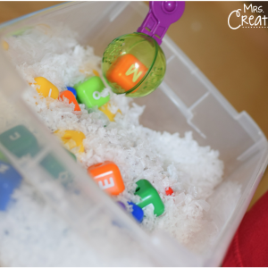 Snowy Day Alphabet Activity…and a GIVEAWAY!