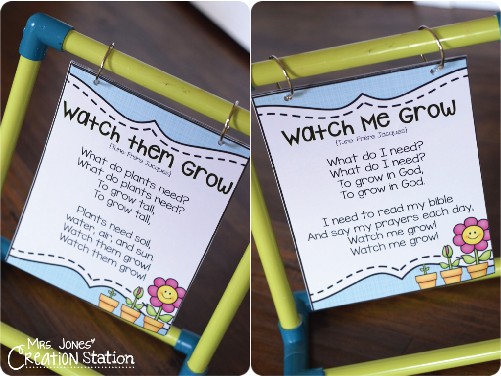 Grow in God: A Spring Bible Lesson - Mrs  Jones Creation Station