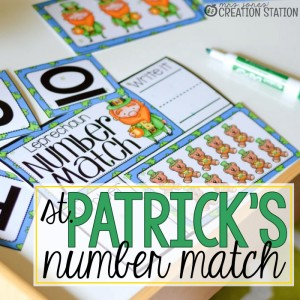 St. Patrick's Number Game