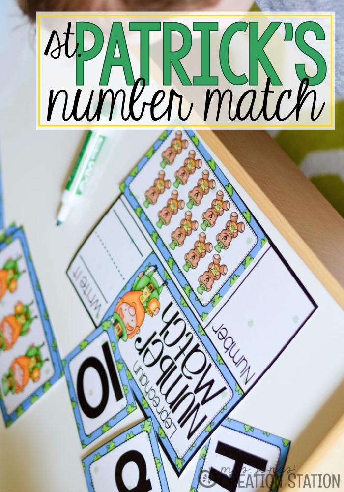 St Patricks Number Match$