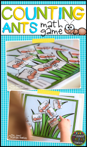 Counting Ants Math Game