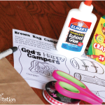 God's Happy Campers: Backpack Craft
