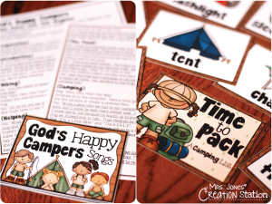God's Happy Campers: Good Samaritan Lesson