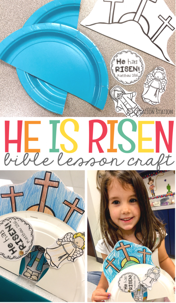 How To Teach Jesus Resurrection To Preschoolers Mrs Jones
