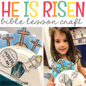 How to Teach Jesus Resurrection to Preschoolers