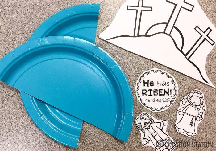 How to teach jesus resurrection to preschoolers mrs for Jesus is alive craft ideas
