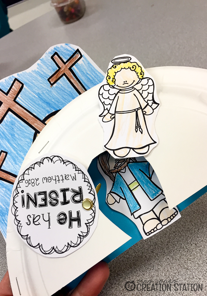 How to Create the Paper Plate Craft  sc 1 st  Mrs. Jonesu0027 Creation Station & How to Teach Jesus Resurrection to Preschoolers - Mrs. Jones ...