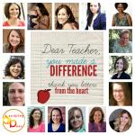 Dear Teacher, You Made A Difference