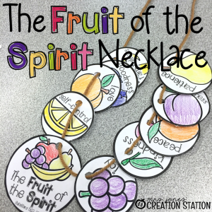 The Fruit Of Spirit Necklace