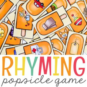 Summer Rhyming Activity