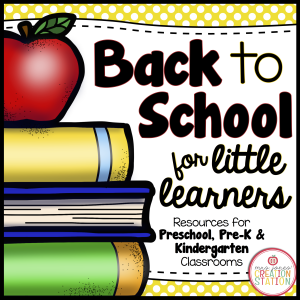 Early childhood resources for the beginning of the school year