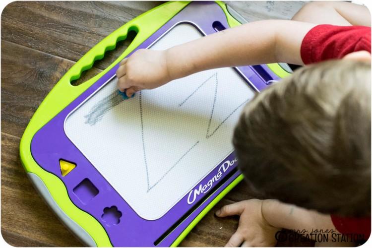 Handwriting for preschool prek kindergarten before pencil grip