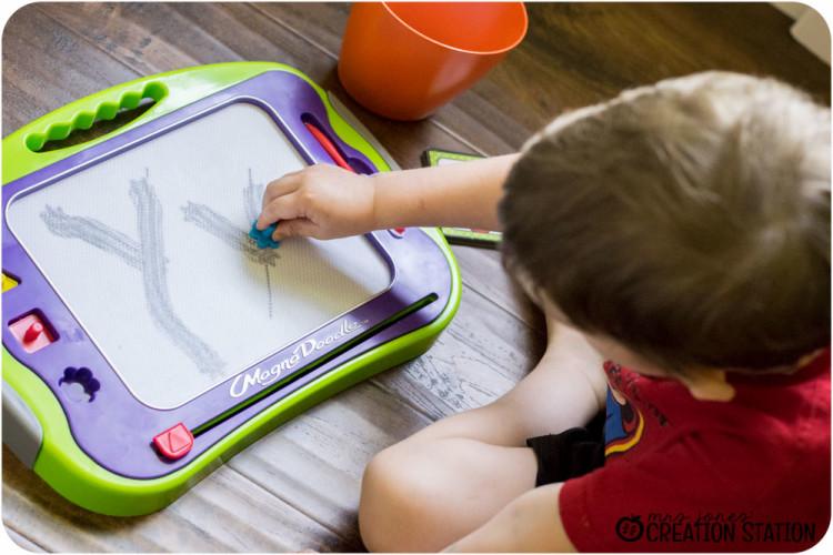 Handwriting for preschool prek kindergarten before pencil grip writing letter Y