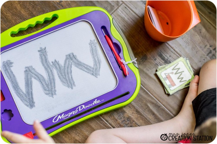 Handwriting for preschool prek kindergarten before pencil grip writing letter W