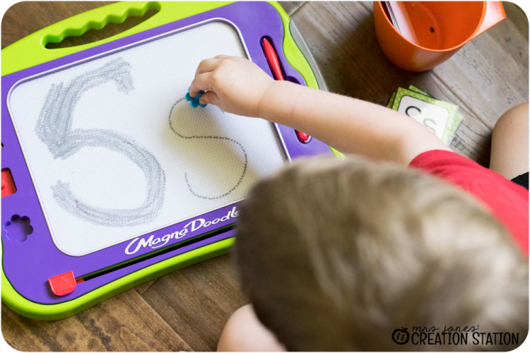 Handwriting for preschool prek kindergarten before pencil grip writing letter S