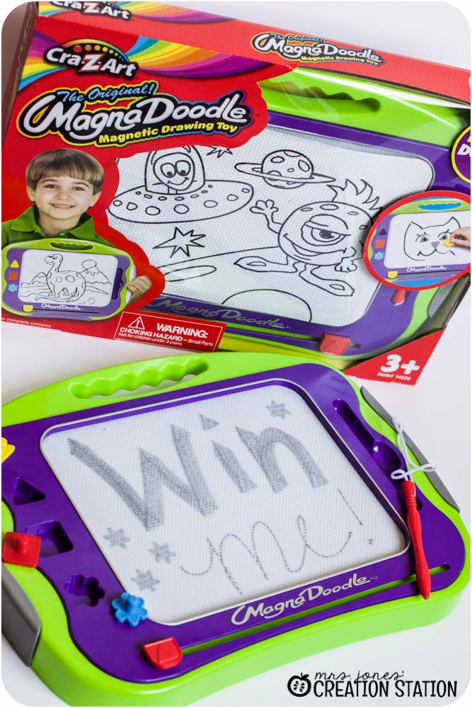 Win a Magnadoodle to help you little learner write