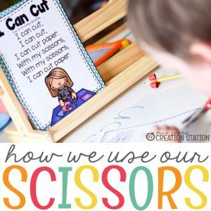 Teaching Kids How to Use Scissors