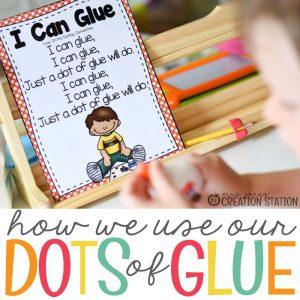 Teaching Kids How to Use Glue Bottles