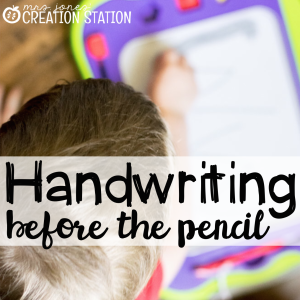Handwriting Before the Pencil