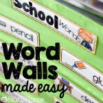 Word Walls Made Easy