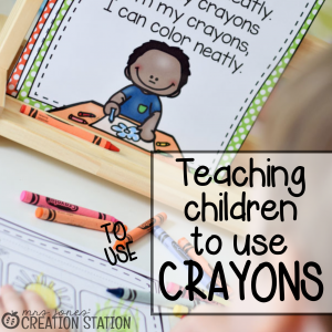 School Supplies: How We Use Our Crayons