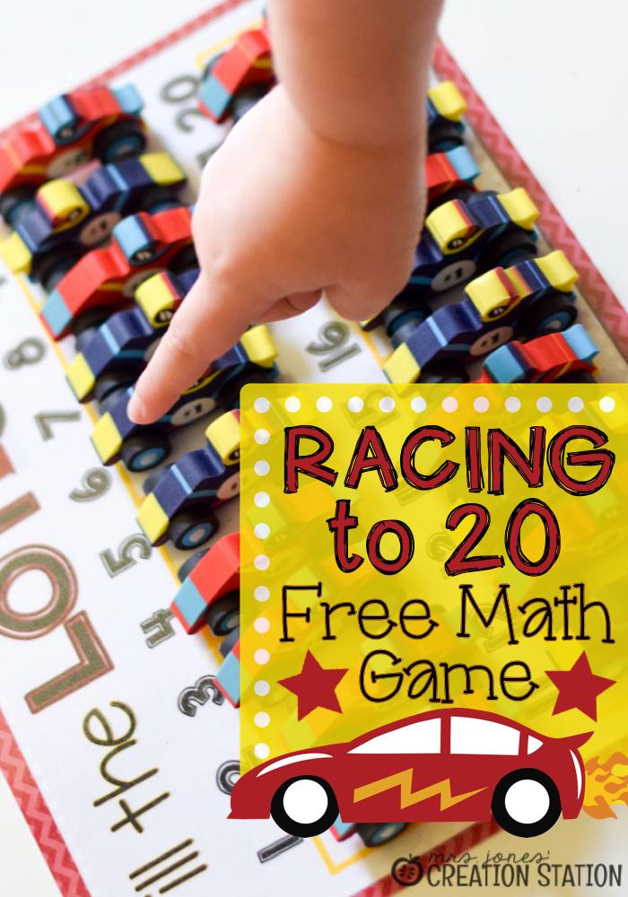 Racing to Kindergarten Math