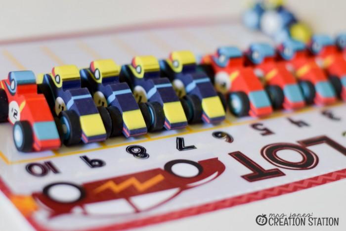 Racing to Kindergarten Math-10