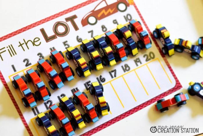 Racing to Kindergarten Math-11