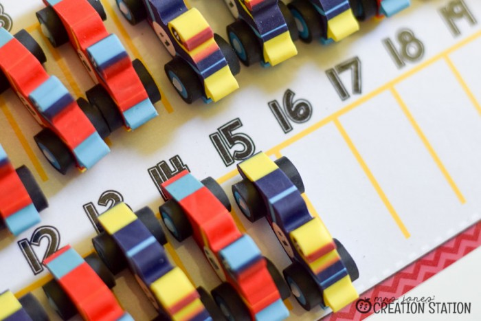 Racing to Kindergarten Math-12