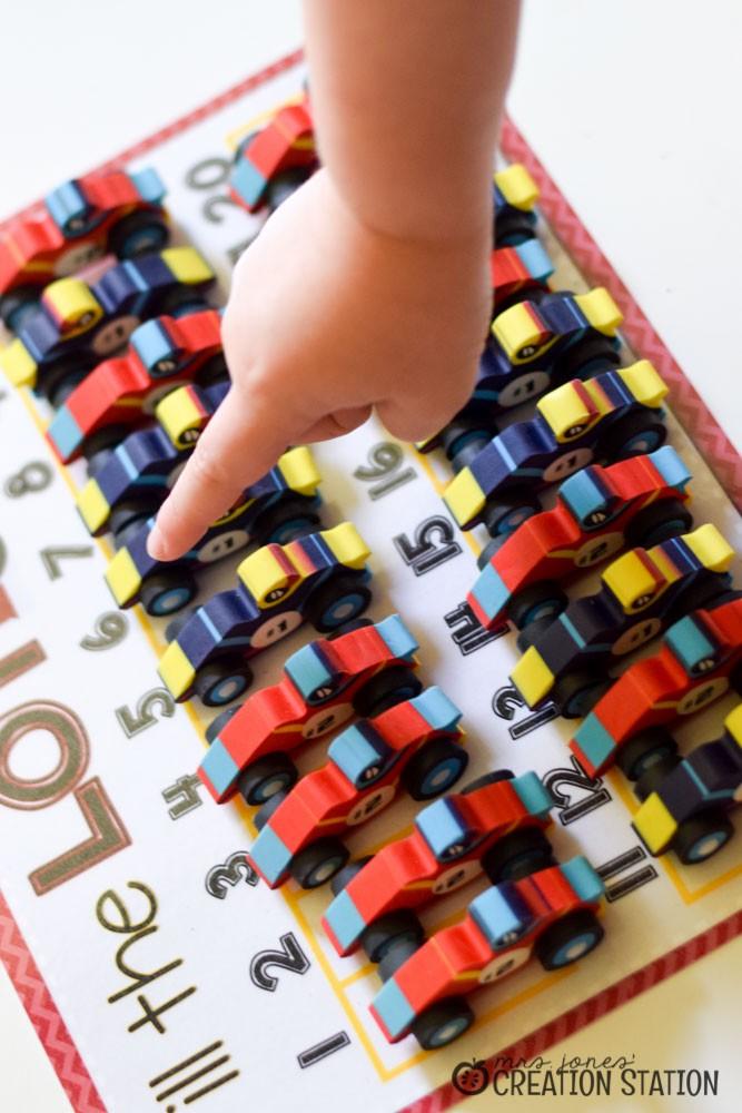 Racing to Kindergarten Math-15