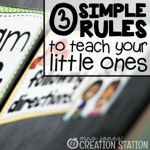 Classroom Rules: Keep it Simple